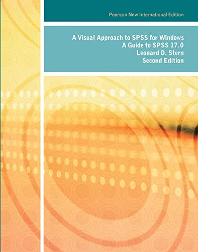 9781292022574: Visual Approach to SPSS for Windows, A: Pearson New International Edition: A Guide to SPSS 17.0