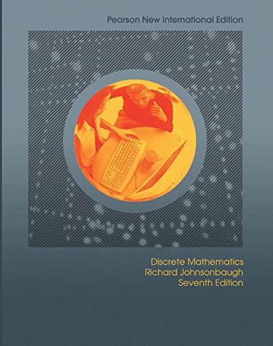 9781292022611: Discrete Mathematics: Pearson New International Edition