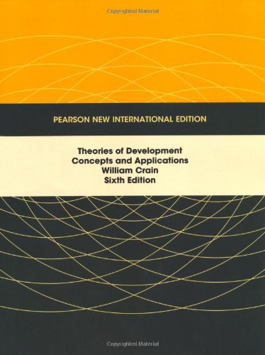 9781292022628: Theories of Development: Concepts and Applications