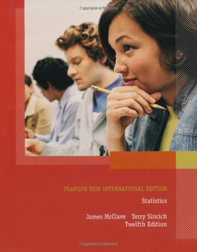 9781292022659: Statistics Pearson New International Edition