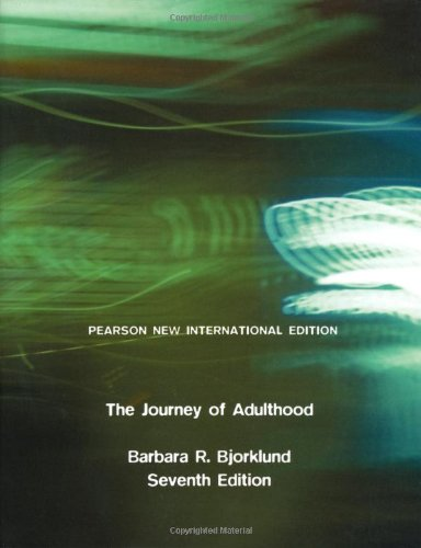 9781292022666: Journey of Adulthood: Pearson New International Edition