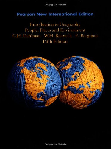 9781292022680: Introduction to Geography: People, Places, and Environment