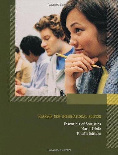9781292022697: Essentials of Statistics