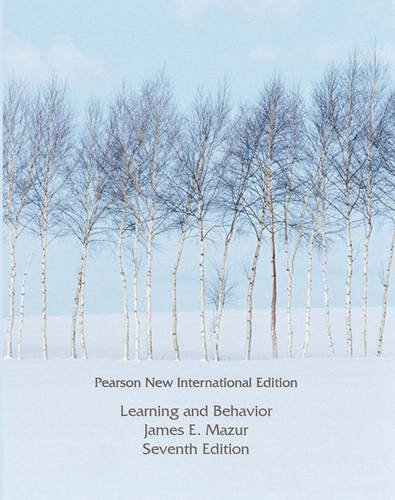 9781292022741: Learning and Behavior