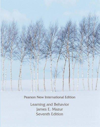 9781292022741: Learning & Behavior: Pearson New International Edition