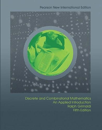 9781292022796: Discrete and Combinatorial Mathematics