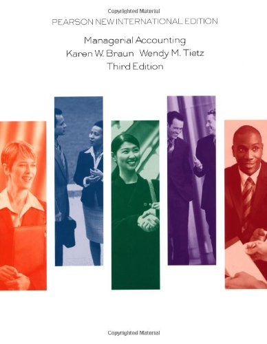 9781292022987: Managerial Accounting