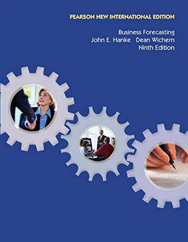 9781292023007: Business Forecasting: Pearson New International Edition