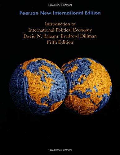 9781292023052: Introduction to International Political Economy: Pearson New International Edition 5ed
