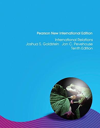 9781292023090: International Relations, 2012-2013 Update: Pearson New International Edition