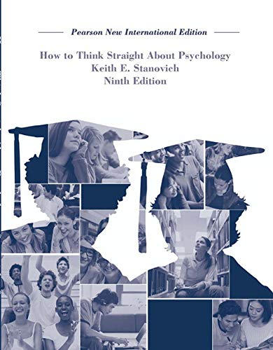 9781292023106: How To Think Straight About Psychology
