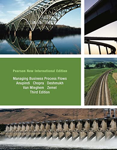 9781292023113: Managing Business Process Flows