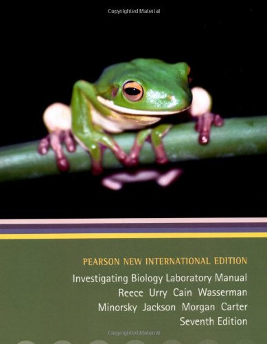 9781292023151: Investigating Biology Lab Manual: Pearson New International Edition