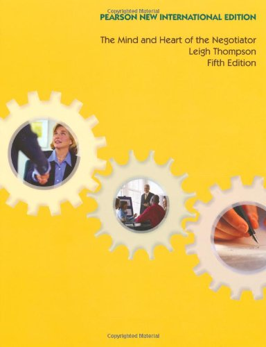 9781292023199: The Mind and Heart of the Negotiator