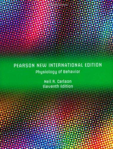 9781292023205: Physiology of Behavior: Pearson New International Edition