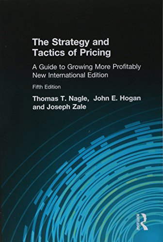 9781292023236: The Strategy and Tactics of Pricing: A Guide to Growing More Profitably