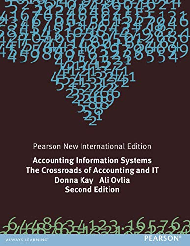 9781292023373: Accounting Information Systems: The Crossroads of Accounting and IT