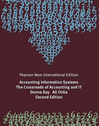 9781292023373: Accounting Information Systems: Pearson New International Ed