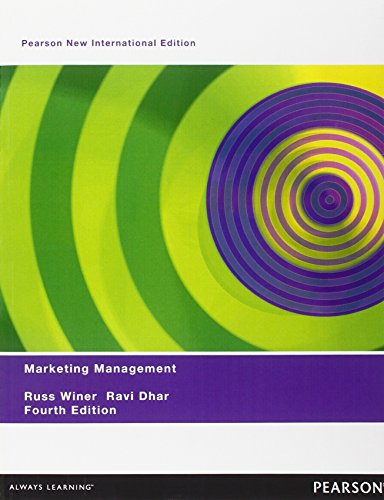 9781292023410: Marketing Management: Pearson New International Edition