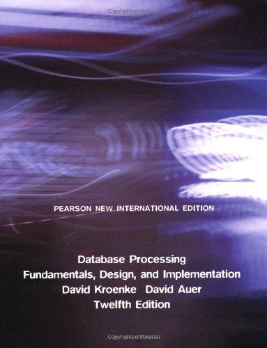 9781292023427: Database Processing