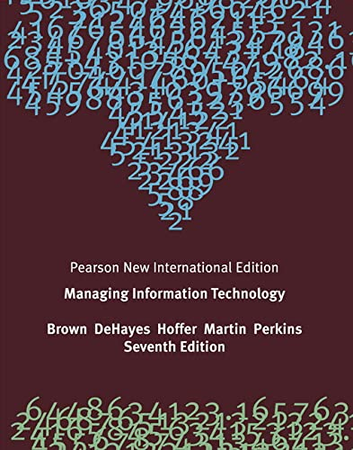 9781292023465: Managing Information Technology