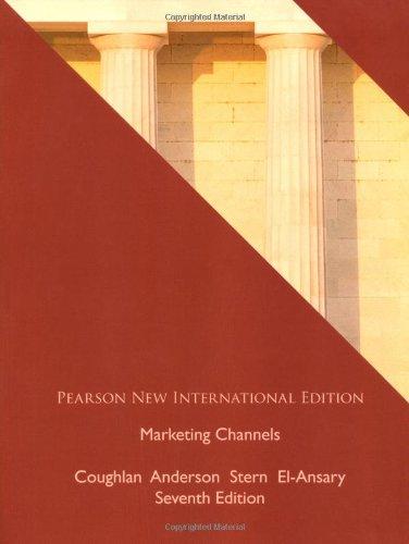 9781292023502: Marketing Channels