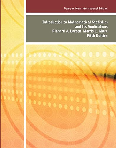 9781292023557: Introduction to Mathematical Statistics and Its Applications: Pearson New International Edition