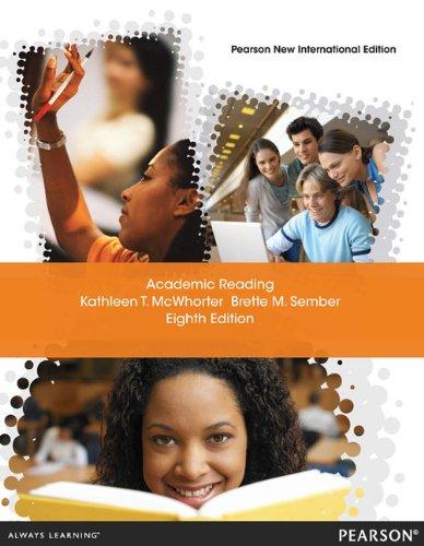 9781292023618: Academic Reading