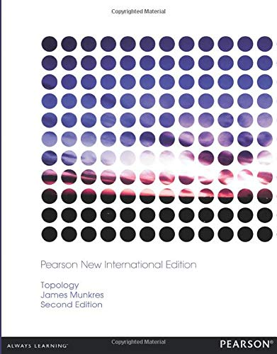 9781292023625: Topology: Pearson New International Edition