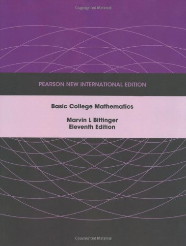 9781292023694: Basic College Mathematics
