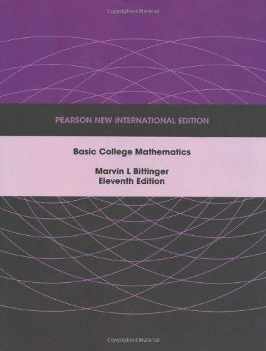 9781292023694: Basic College Mathematics: Pearson New International Edition