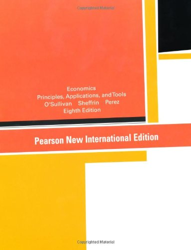 9781292023793: Economics: Pearson New International Edition: Principles, Applications, and Tools