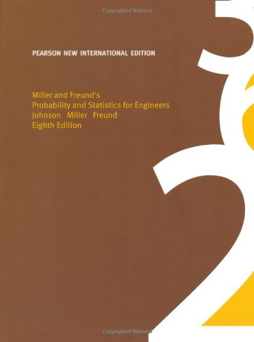 9781292023830: Miller & Freund's Probability and Statistics for Engineers: Pearson New International Edition