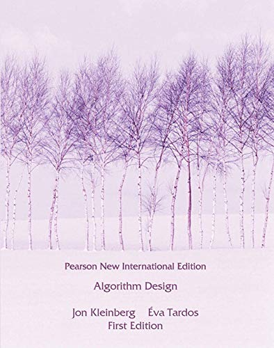 9781292023946: Algorithm Design: Pearson New International Edition