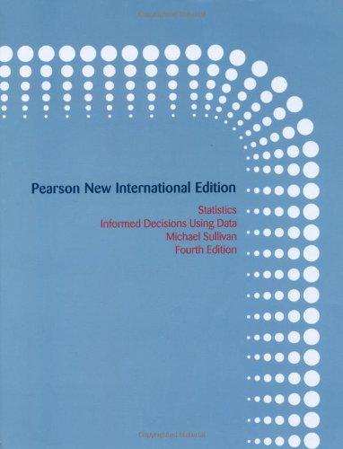 9781292023953: Statistics: Informed Decisions Using Data
