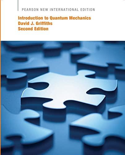 9781292024080: Introduction to Quantum Mechanics: Pearson New International Edition