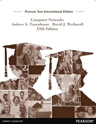 Computer Networks: Pearson New International Edition: Andrew S. Tanenbaum;