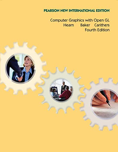 9781292024257: Computer Graphics with Open GL: Pearson New International Edition