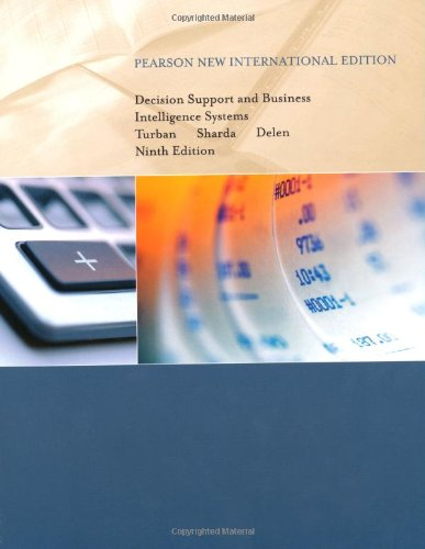 9781292024264: Decision Support and Business Intelligence Systems