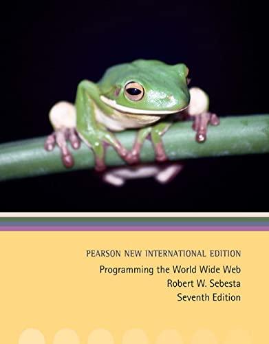 9781292024318: Programming the World Wide Web: Pearson New International Edition