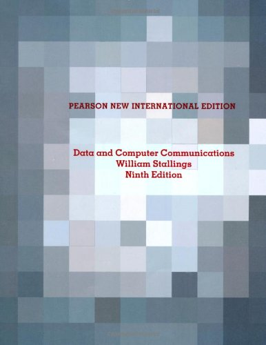 9781292024387: Data and Computer Communications: Pearson New International Edition