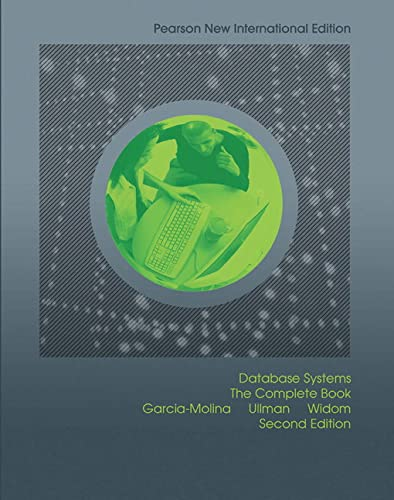 9781292024479: Database Systems: Pearson New International Edition: The Complete Book