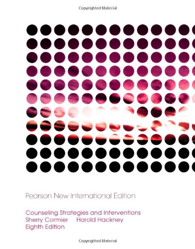 9781292024691: Counseling Strategies and Interventions: Pearson New International Edition