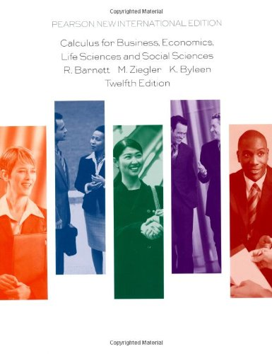 9781292024769: Calculus for Business, Economics, Life Sciences and Social Sciences