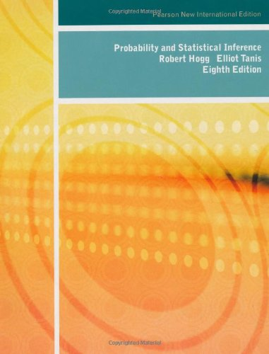 9781292024783: Probability and Statistical Inference