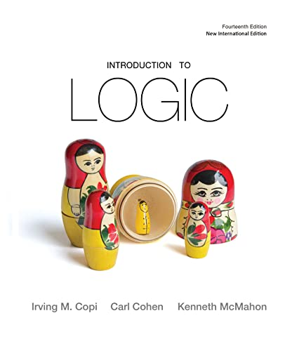 9781292024820: Introduction to Logic