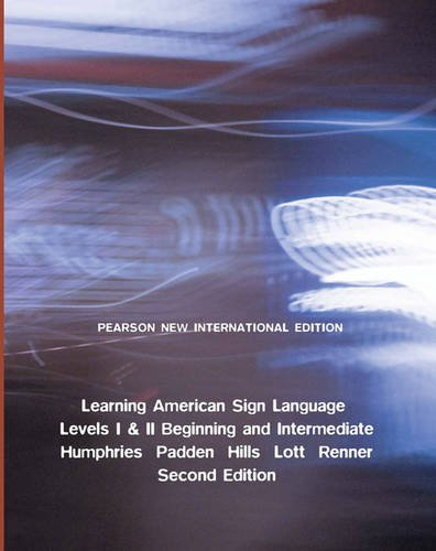 9781292024950: Learning American Sign Language: Levels I & II--beginning & Intermediate