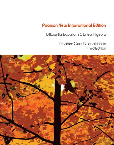 9781292025131: Differential Equations & Linear Algebra