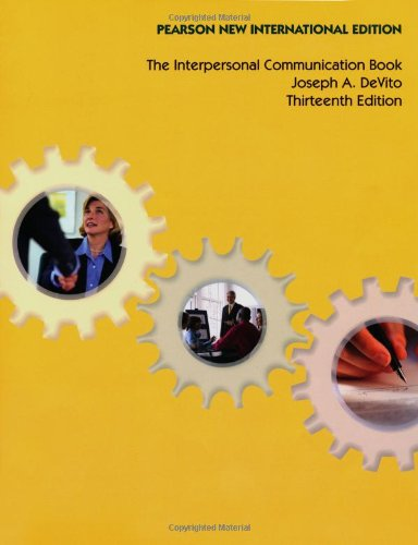 9781292025162: Interpersonal Communication Book, The: Pearson New International Edition