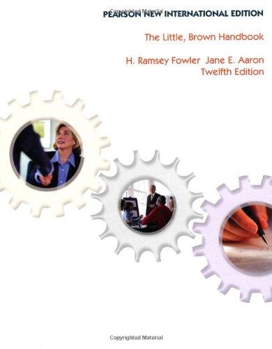 9781292025346: The Little, Brown Handbook
